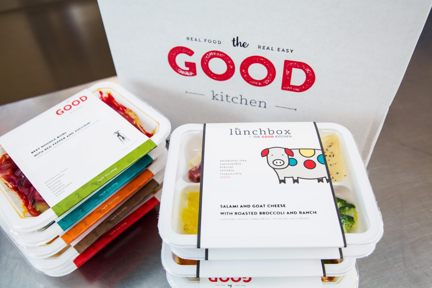 The Good Kitchen packaging