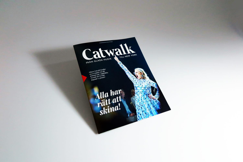 Omslaget av Catwalk magazine