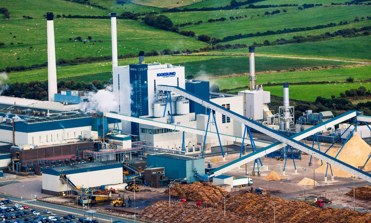 View overlooking Workington mill