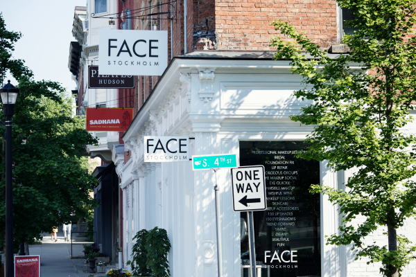 FACE Stockholm flagship store in Hudson, New York