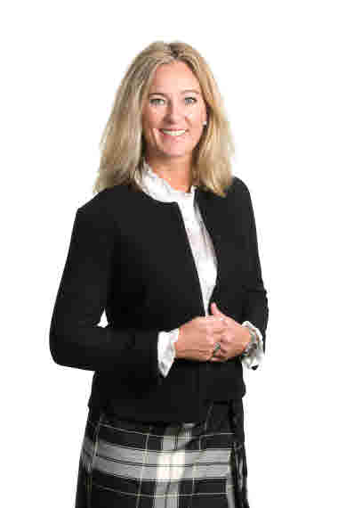 Stina Sandell, Senior Vice President Sustainability and Communications