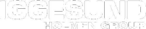 Iggesund Paperboard logotype in white