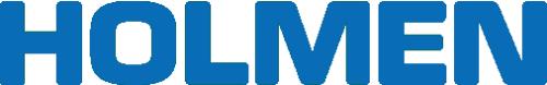 Holmen logotype blå