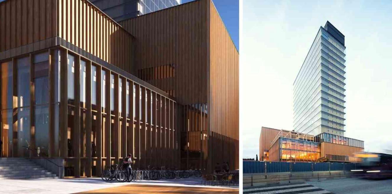 Sara kulturhus i Skellefteå invigs