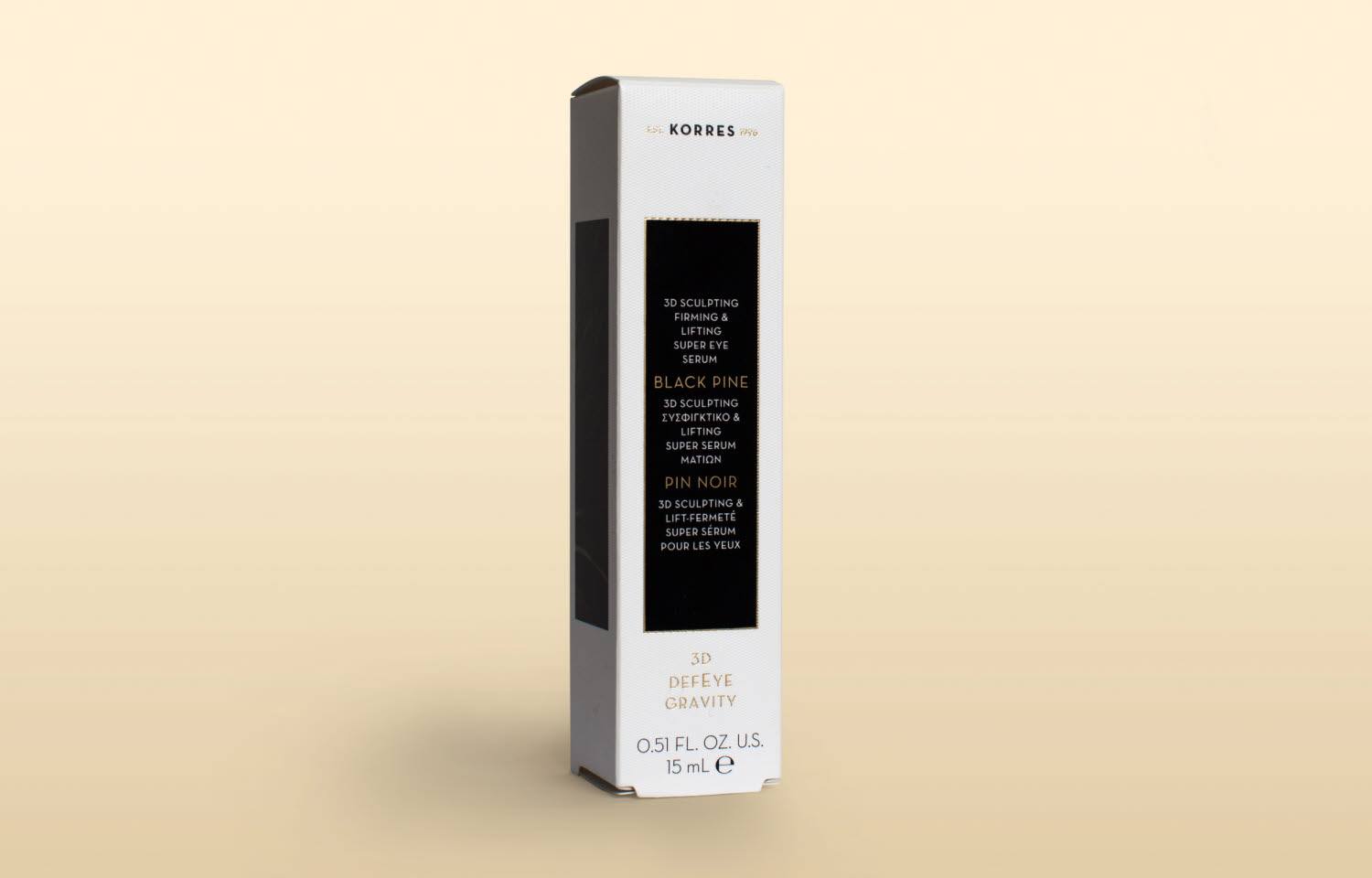 korres skincare collection packaging