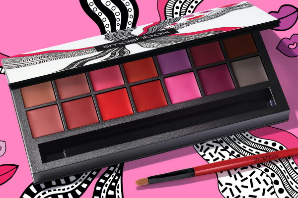 Smashbox makeup lipstick palette