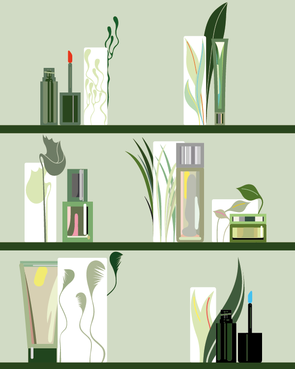clean beauty graphics