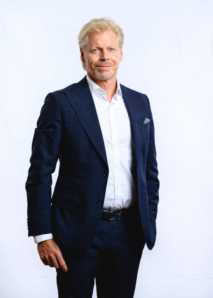 Johan Nellbeck, Senior Vice President Paperboard