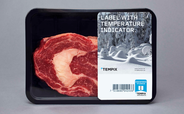Tempix packaging for packaged meat