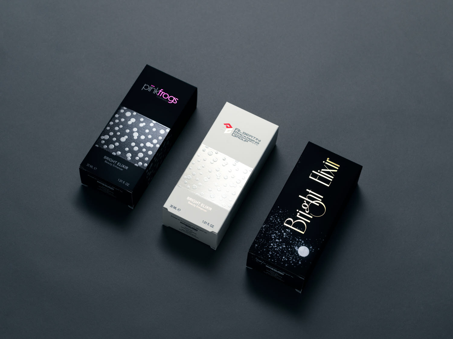 cadeaux luxe packaging on invercote with uv-print