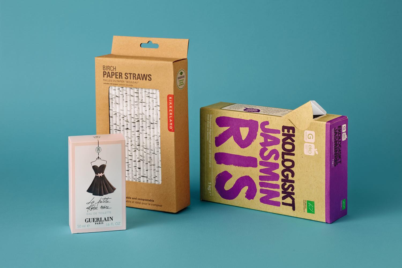 Paperboard packaging examples