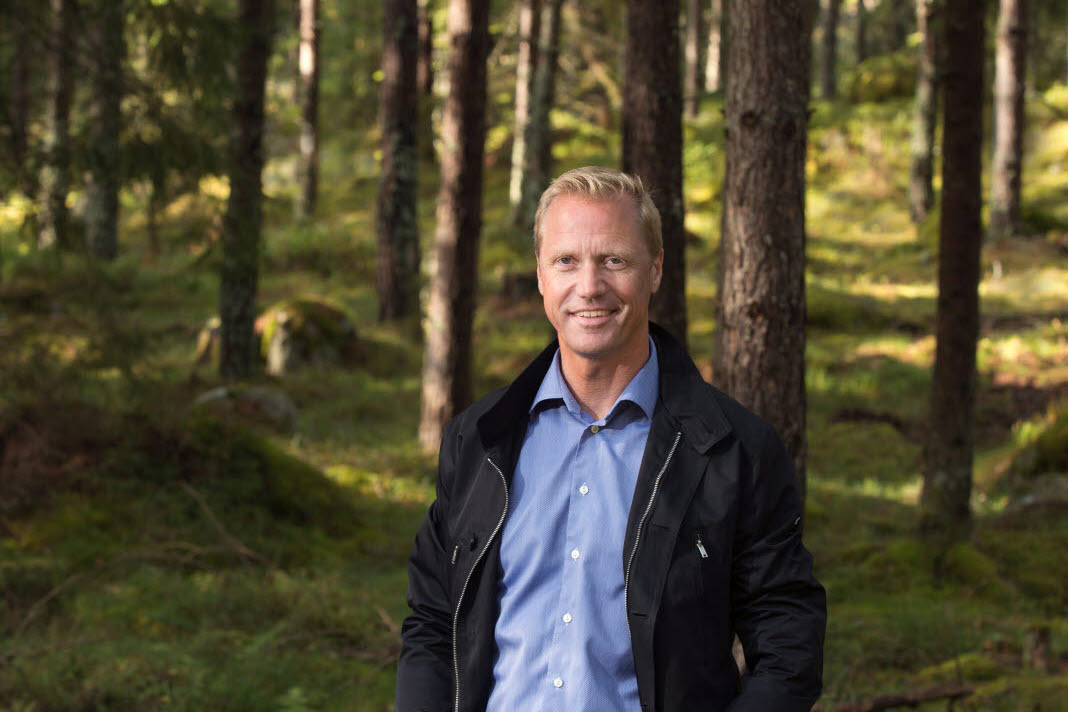 Henrik Sjölund President and CEO of Holmen