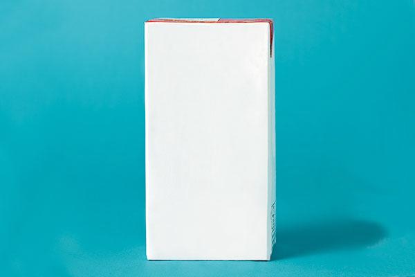 Paperbaord milk box
