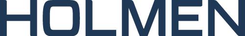 holmen logotyp blå