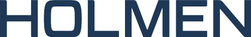 Holmen logo blue