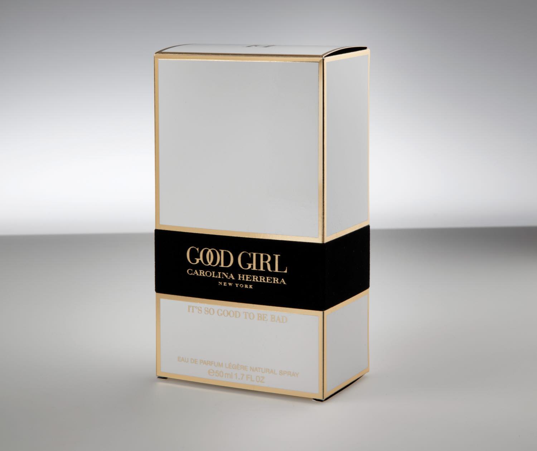 good girl by carolina herrera packaging