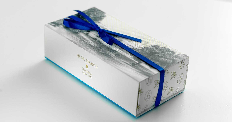 Ruru Mary's chocolate packaging