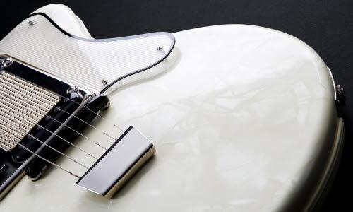 Metalprint digital signature guitarr