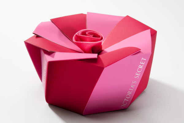 Victoria´s secret paperboard sample box