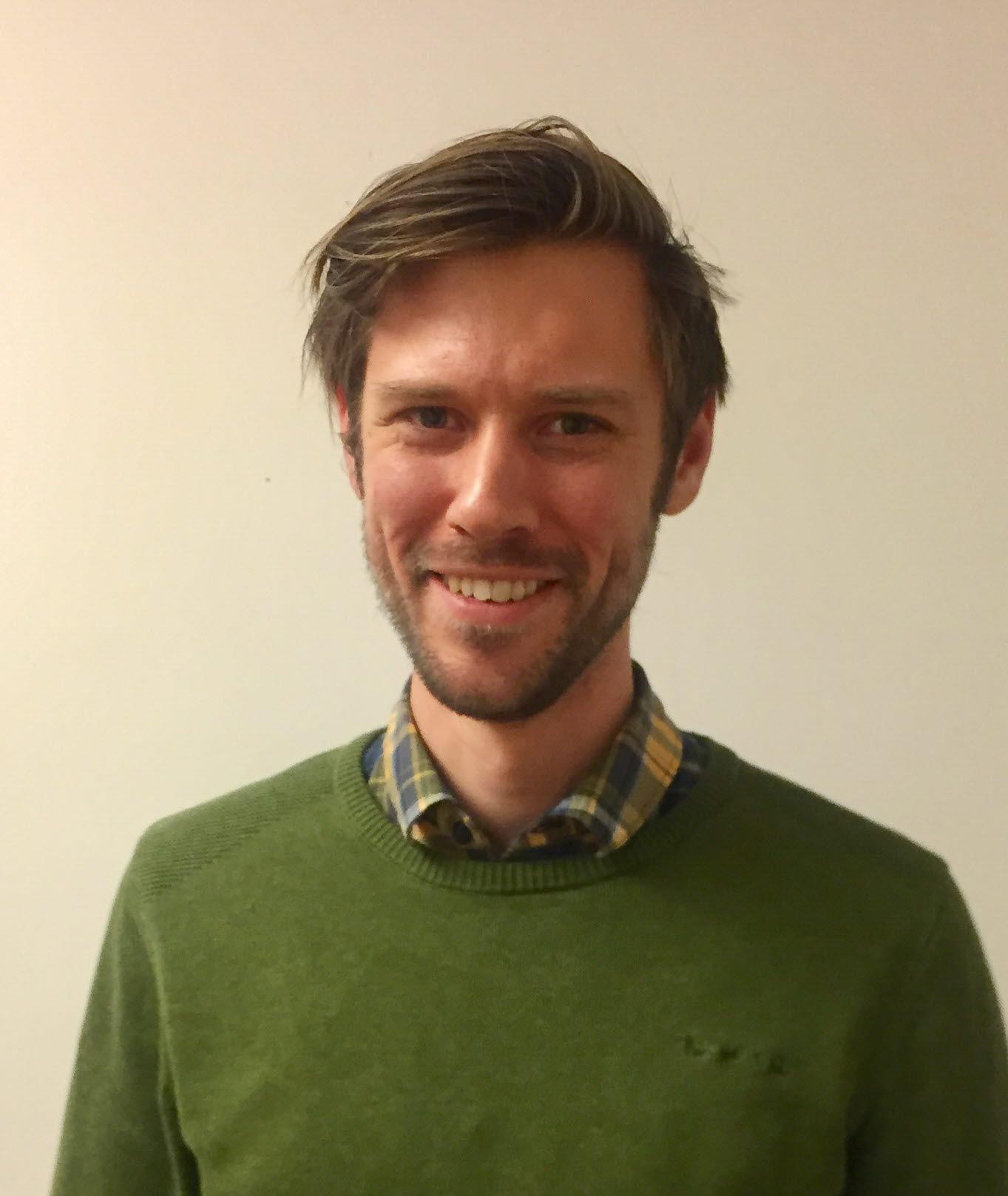GIS-analytiker Ambjörn Forslund Holmen Skog