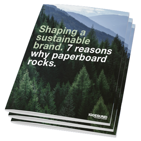 shaping a sustainable brand booklet