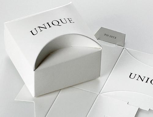 unique Invercote boxes in white