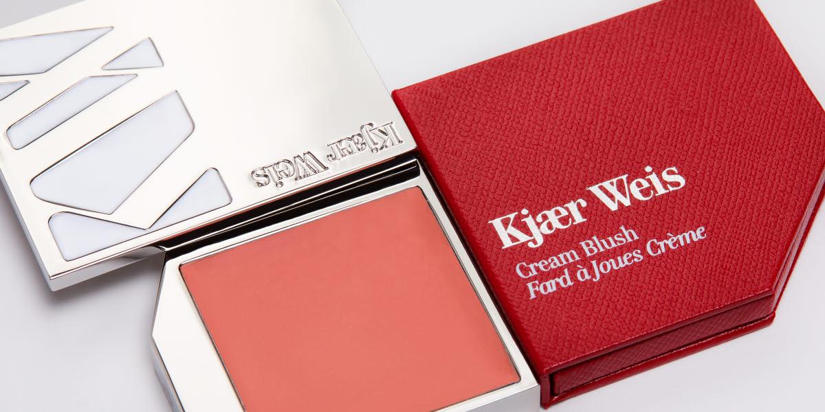 Kjaer Weis cream blush packaging