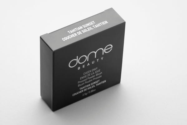 Singe dome BEAUTY packaging standing up