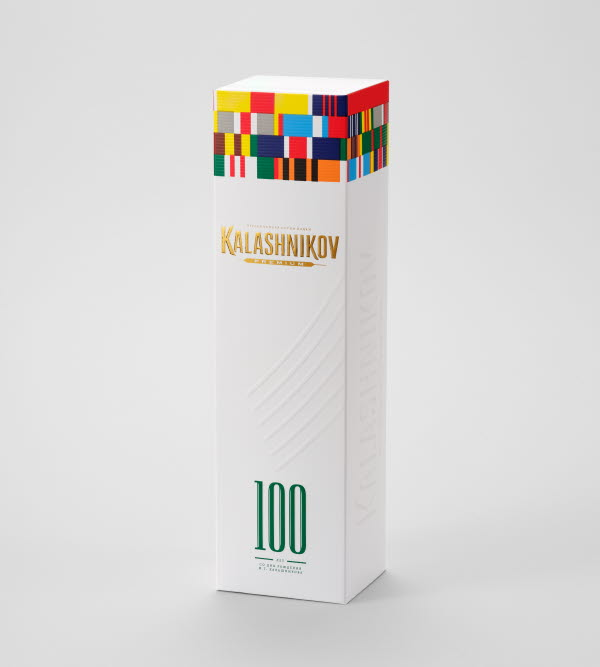 Kalshinikov vodka gift box
